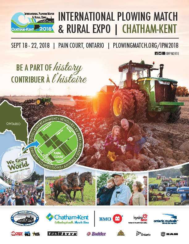 International Plowing Match & Rural Expo 2018